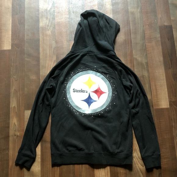 huge discount 71dc9 42dbc Pittsburgh Steelers VS PINK Women's Hoodie 🏈